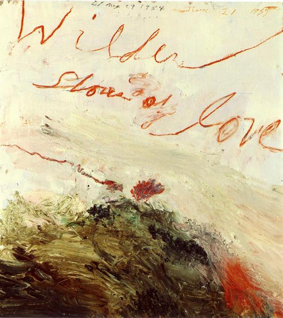 Cy Twombly- Wilder Shores og Love