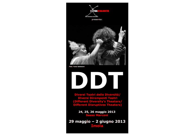 DDT-depliant programma