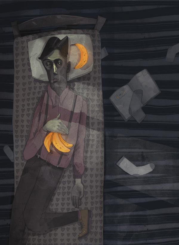 Patryk Hardziej-dreamer illustrazione