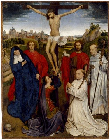 hans memling- cristo crocefisso