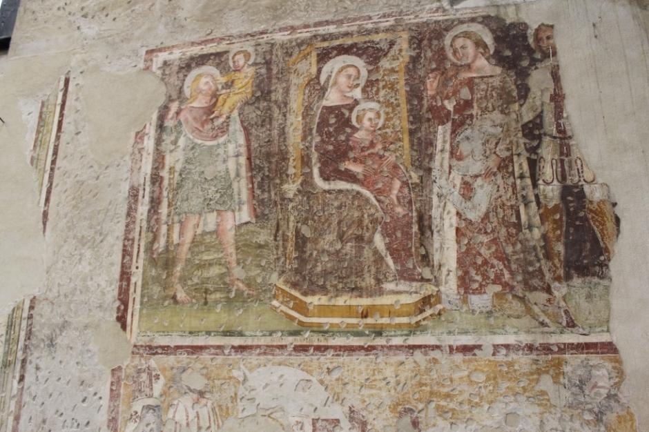 san-giorgetto affreschi