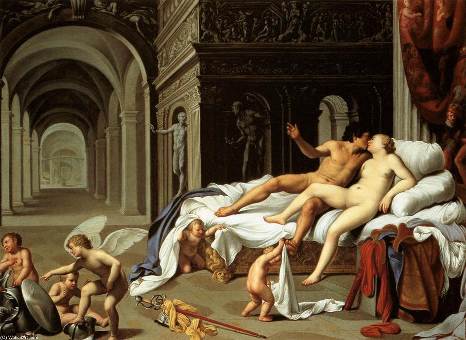 Carlo-Saraceni-Venere e Marte