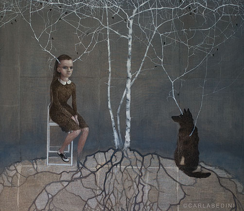 Carla bedini -Desired-constellations-1-95_110_cm