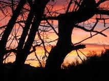 2012 dicembre è la mia valle in un tramonto