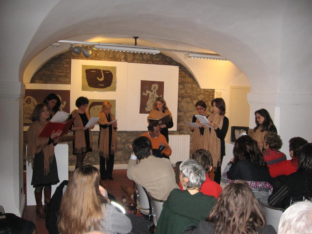 8 marzo con il gruppo gimbutas