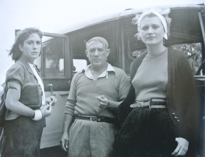 Dora Maar - Picasso - Lee Miller 1937