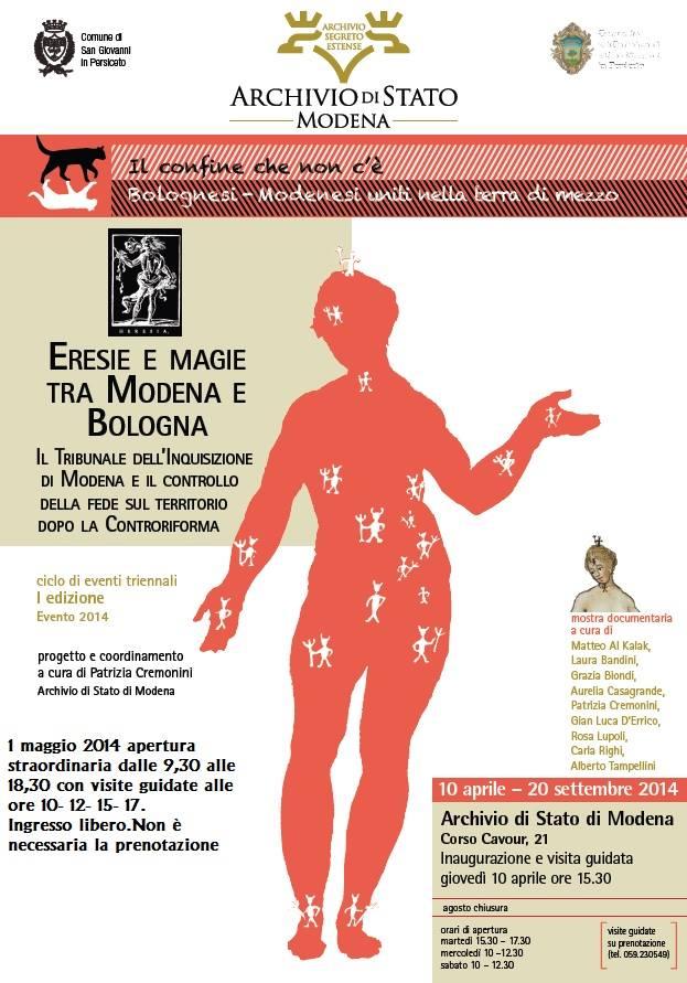 Eresie e magie tra Modena e Bologna