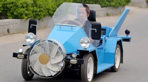 l'auto a vento