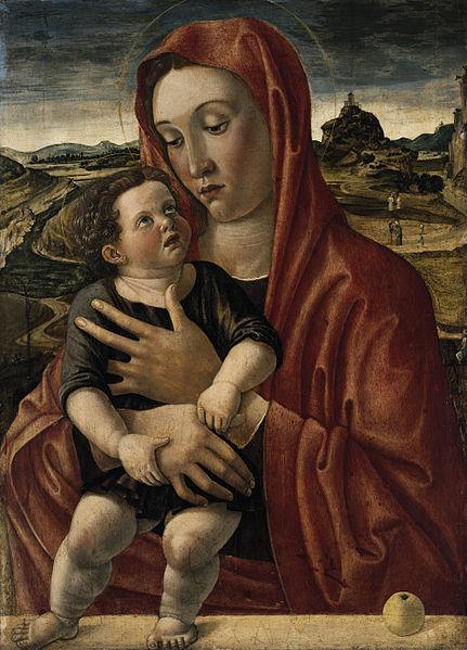 Giambellino-Madonna with Child