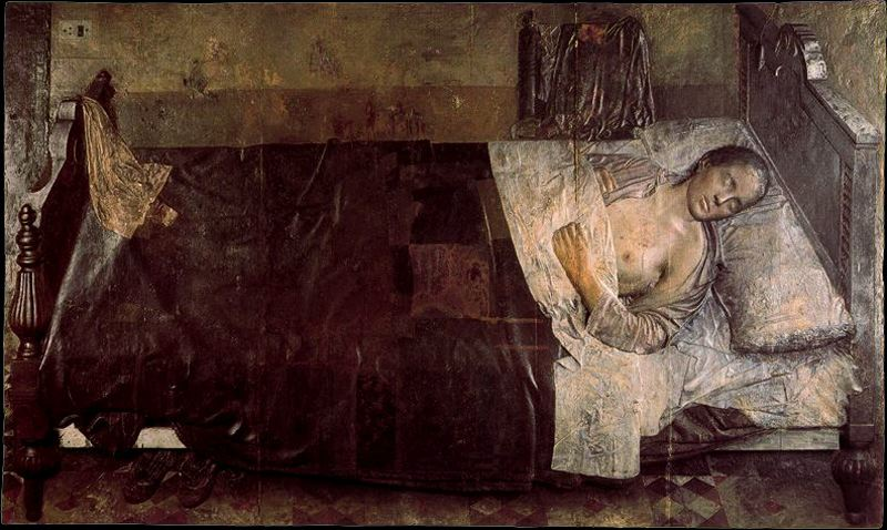 Antonio Lopez Garcia  sleeping woman