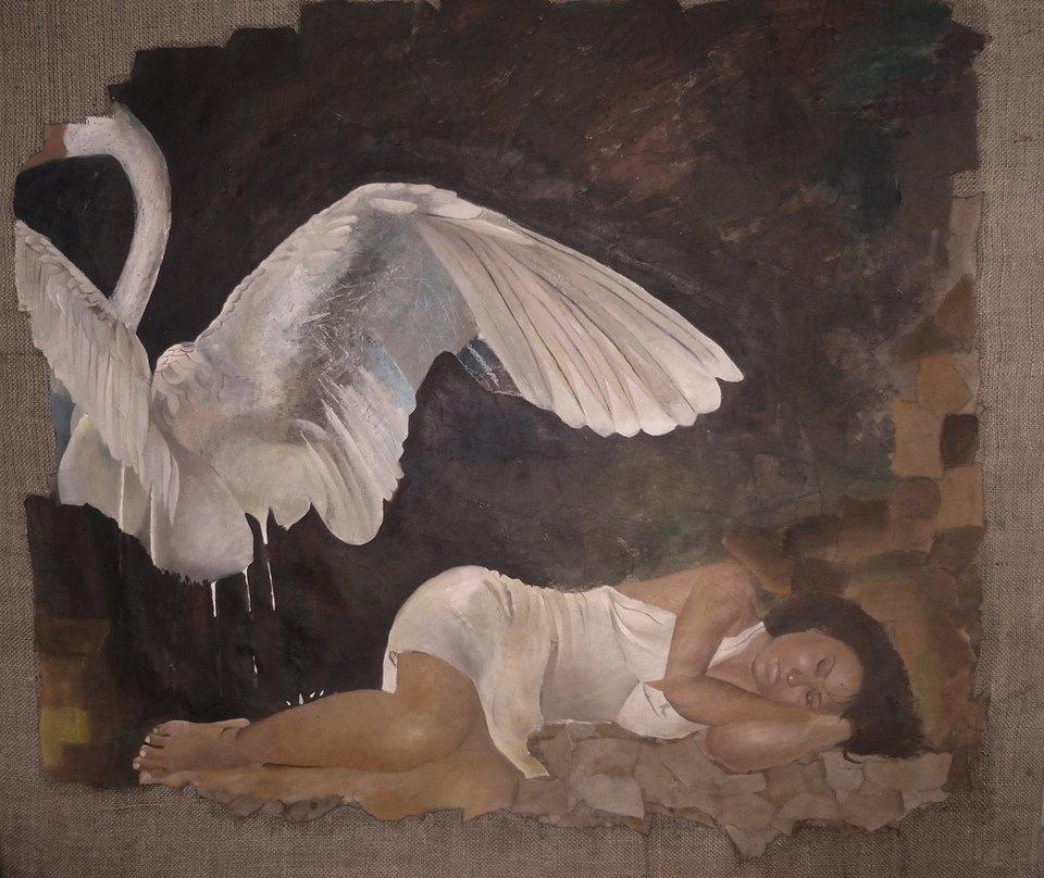 Aurora Castro-Mientras dormía-tecnica mista