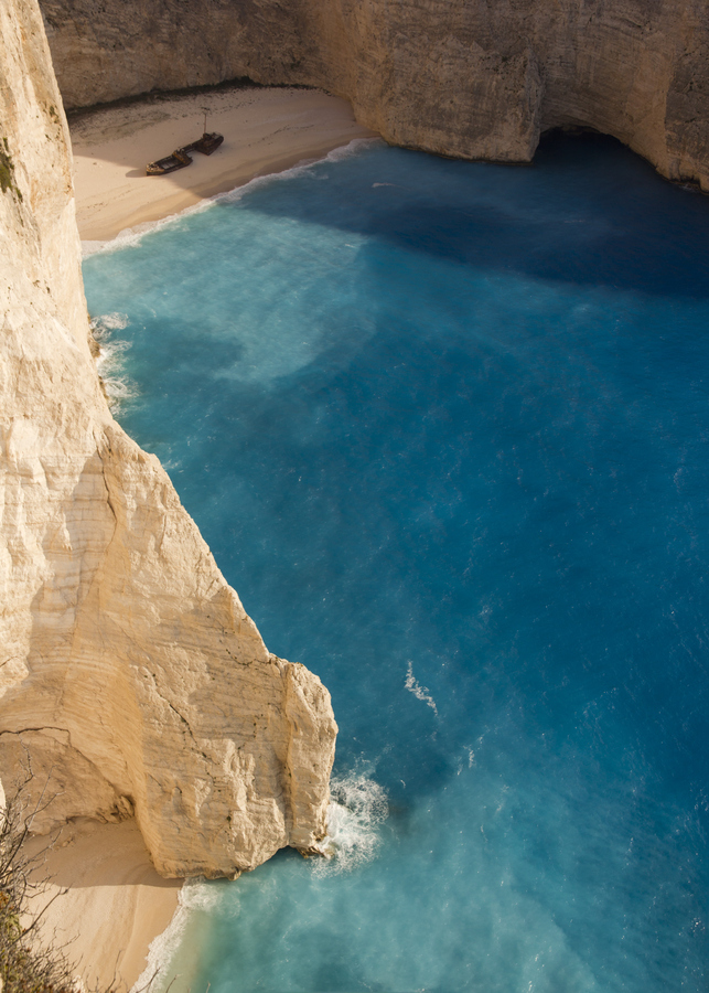 his is my Greece - Navagio the Shipwreck beach is an exposed cove on Zakynthos island, Ionian