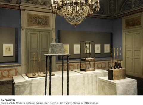 GIACOMETTI-Installation-view-on-Alberto-Giacometti-Galleria-dArte-Moderna-di-Milano-fino-al-1-Febbraio-2015-foto-F.-Stipari-5-480x351