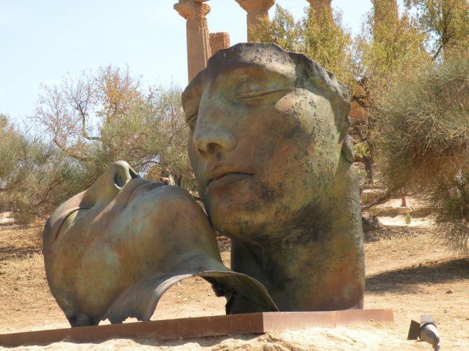 igor mitoraj 1 agrigente sicile