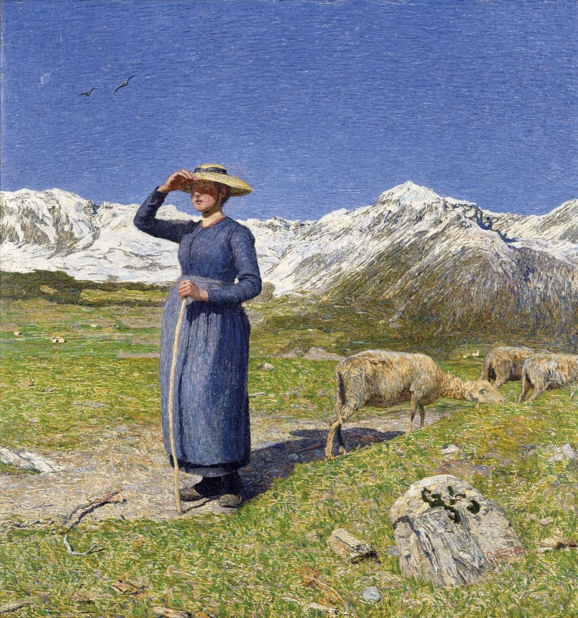 19. Segantini Mezzogiorno sulle Alpi
