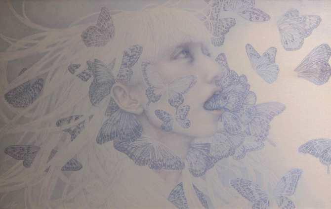 Atsuko-Goto-Joke-of-ice-texture_Watercolor-Lapis-lazuli-Cotton_