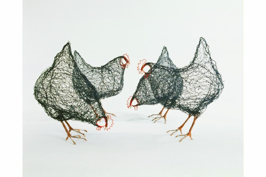 celia smith 6wire-chickens-1024x682
