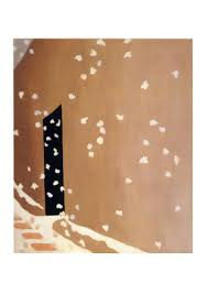 Georgia O'Keeffe, Back Door with Snow,