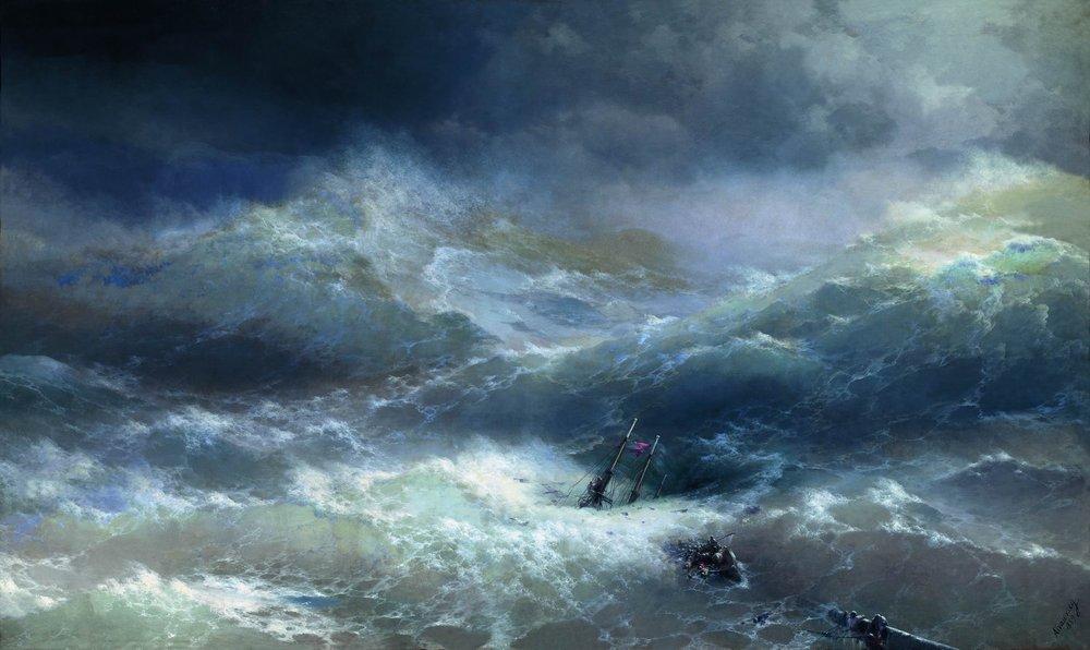 IL MULINO GROTTI Ivan-aivazovsky-wave
