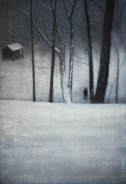 thomas lamb yuki-amongst-trees-in-winter-ii