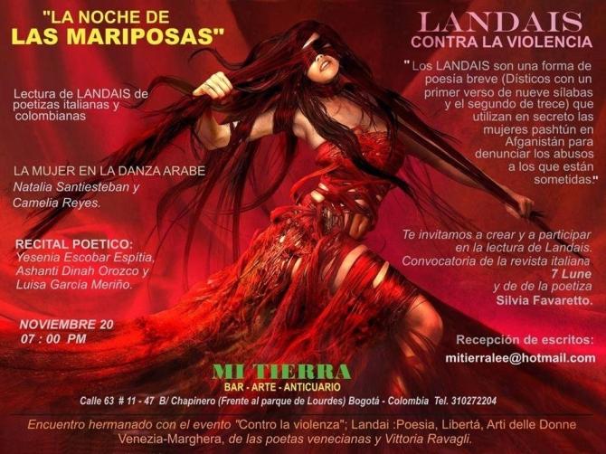 affiche encuentro colombiano