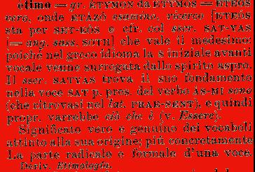 etimologia etimo