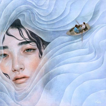 tran nguyen- the lilac lady