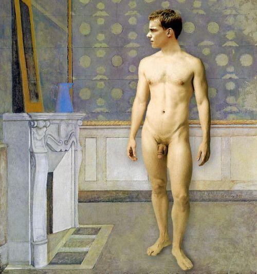 Balthus -Nude Before A Mirror