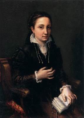 lucia anguissola- autoritratto