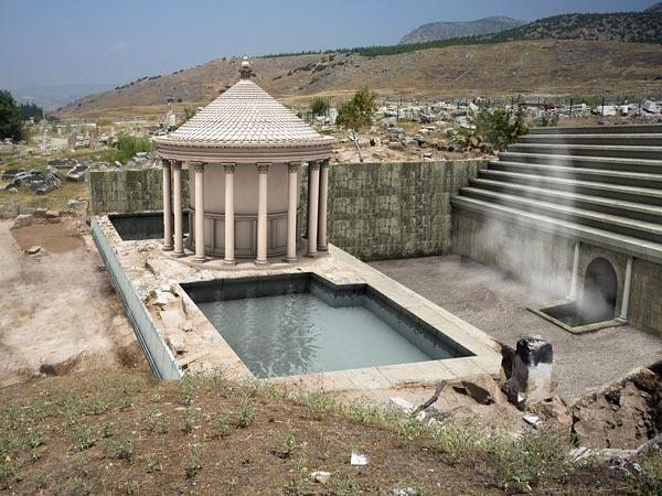 Ploutonion, l'antica porta dell'oltretomba.-Hierapolis, la città risorta