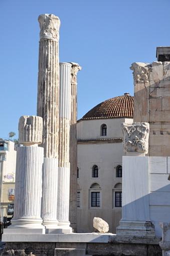 Grecia le Biblioteca di Adriano
