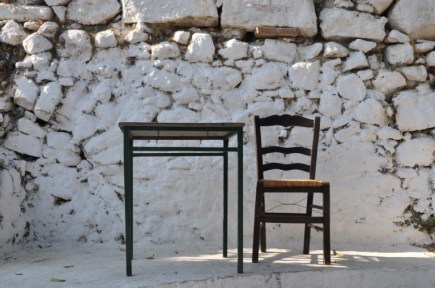 Grecia verso l'acropoli