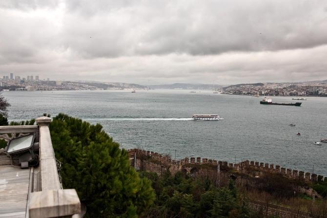 lucamoglia. BOSFORO DA PALAZZO TOPKAPI, . Istanbul, Turchia.