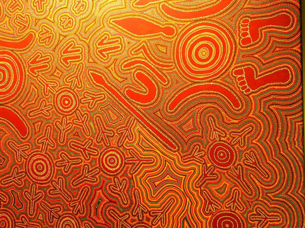 Loredana magazzeni cartesensibili for Arte aborigena