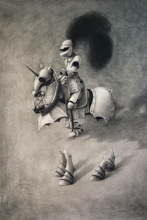 Alice Lin- cavaller fantasma