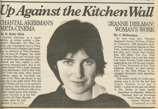 chantal-akerman-j-hoberman-village-voice