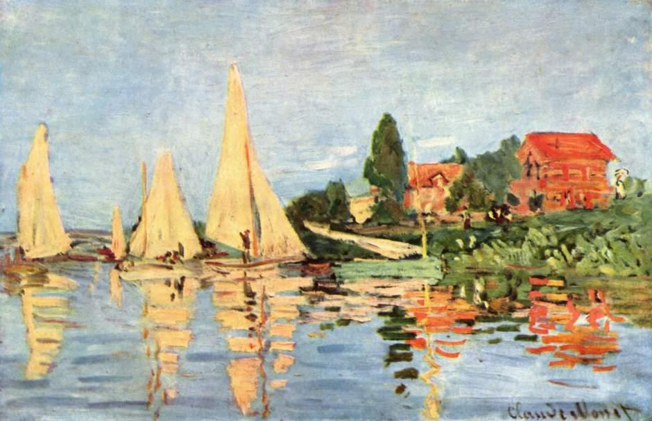 Claude_Monet -regate ad argenteuil