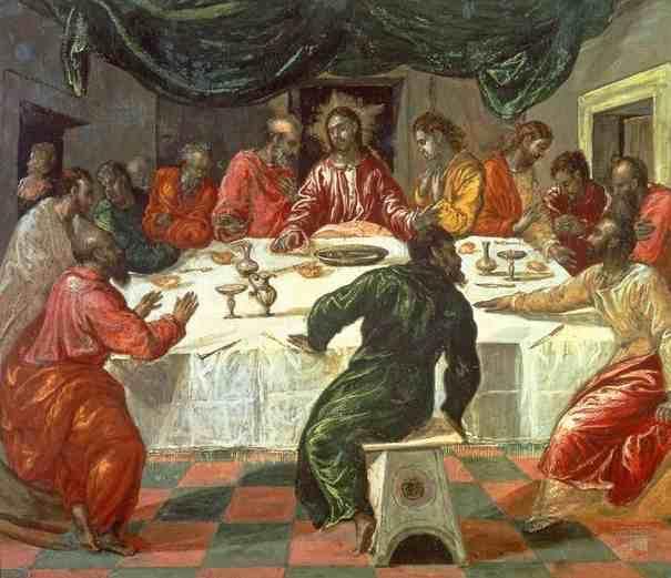 el greco ultima cena