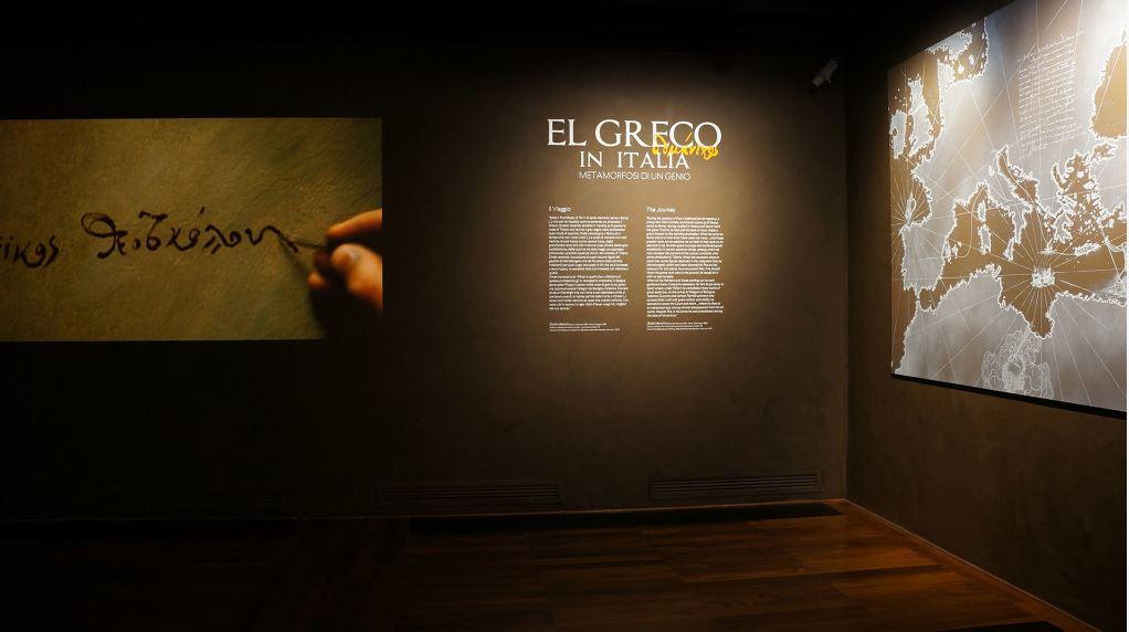 Colpo d occhio silvio lacasella el greco in mostra a for Mostra treviso