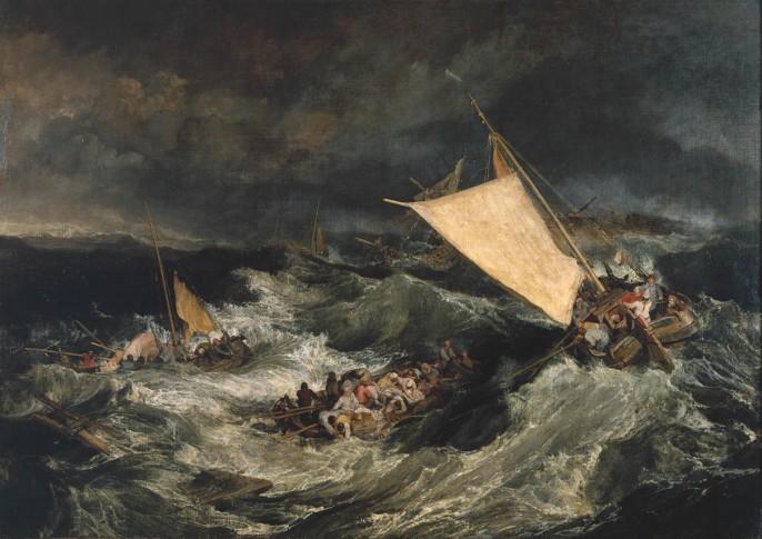 William Turner 'The Shipwreck'