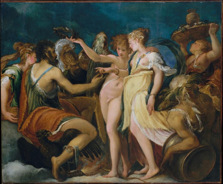 Le nozze di Cupido e Psiche