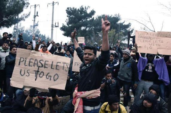 migranti bloccati