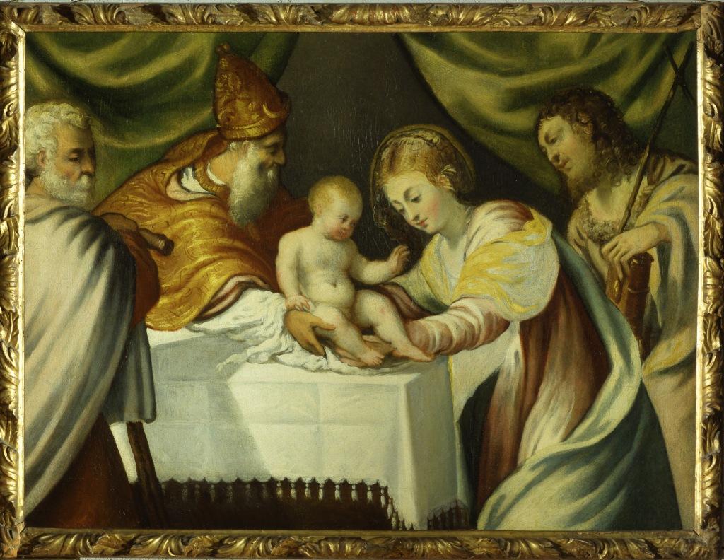 Tintoretto - Castelvecchio-presentazione al tempio 6828