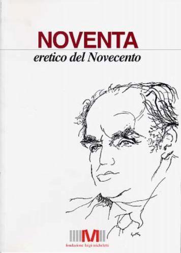 cover noventa eretico del novecento