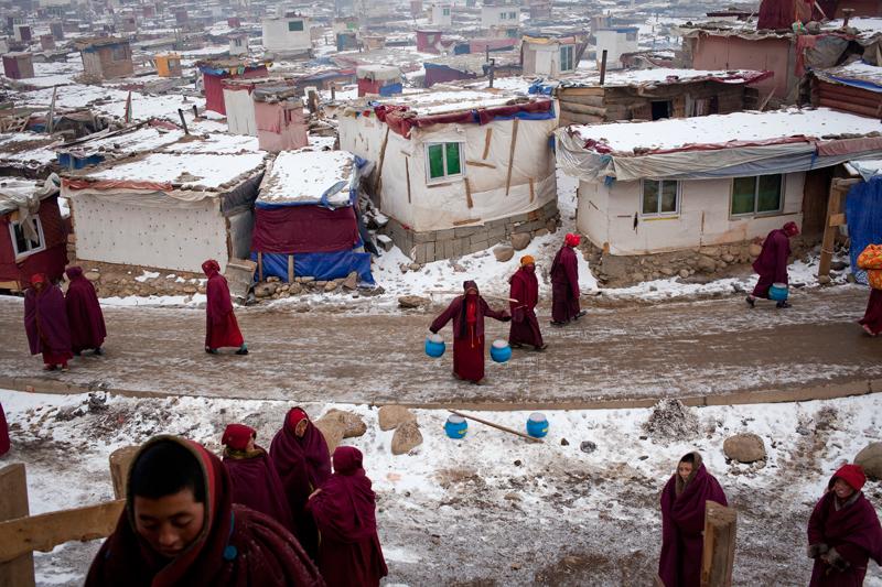 monache tibetane