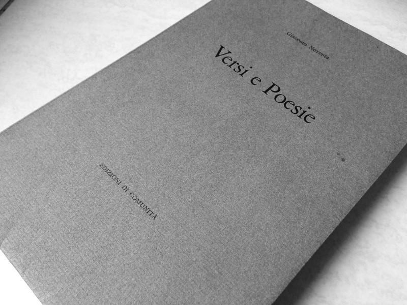 noventa versi e poesia