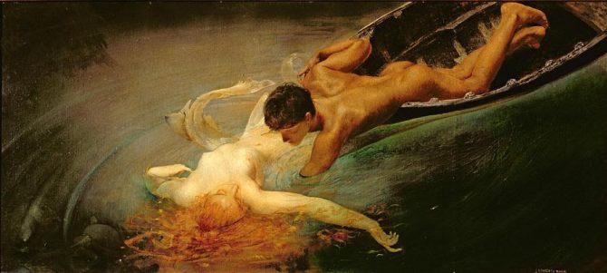 2 Giulio Aristide Sartorio - La sirena - 1893.j