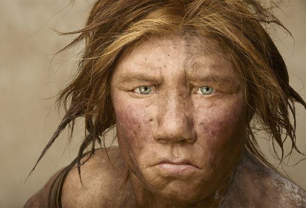 Joe McNally- donna di neanderthal