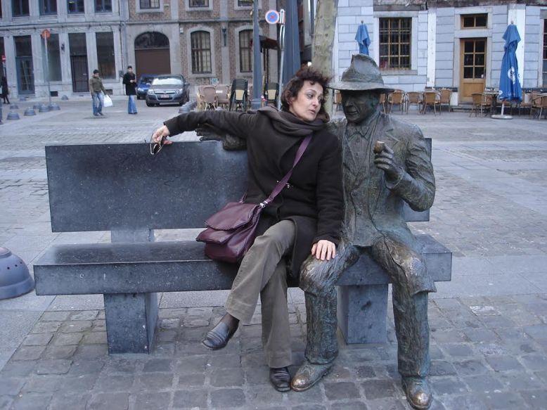 Liegi- con Simenon