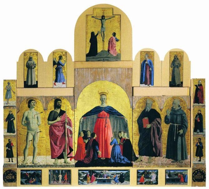 Piero della Francesca, Madonna della Misericordia